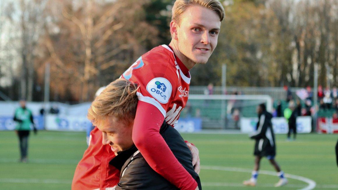 Marklund: - Håper scoringsformen fortsetter