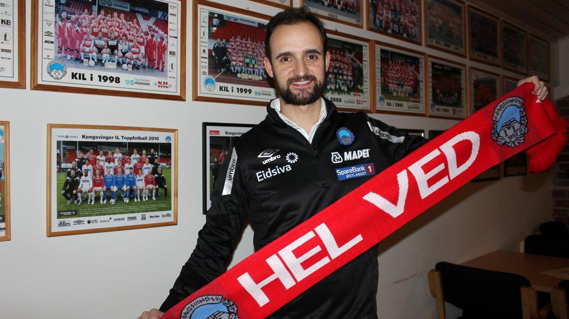 Vitor Gazimba ny KIL-trener