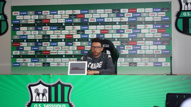 Sassuolos trener kom vi også i prat med.