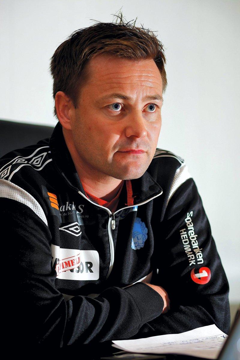 Stian Aasen fra tiden som KIL-trener. Foto: Henning Danielsen, Glåmdalen.