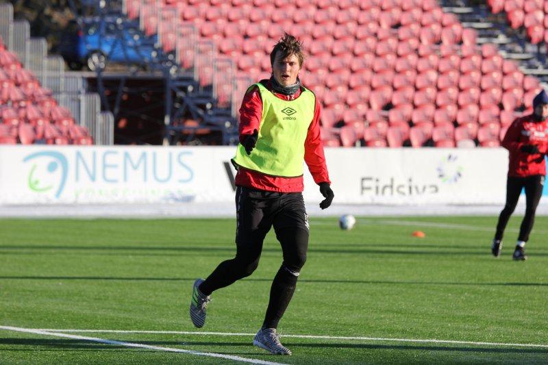 Markus Kaasa vet også hvor målet står.