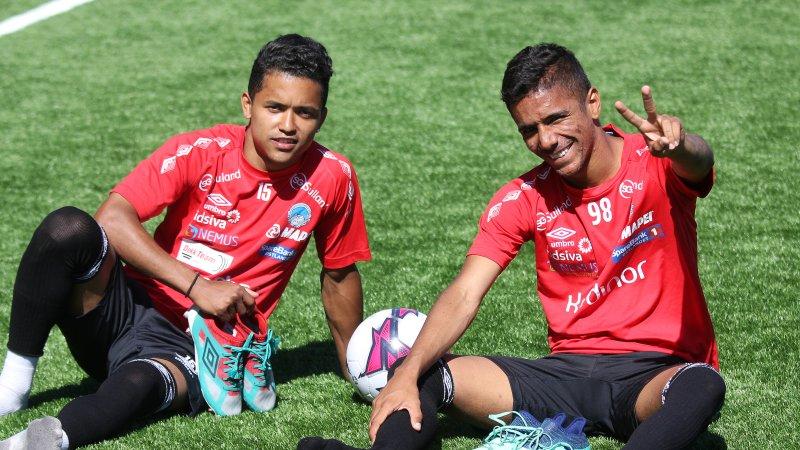 Gutta lover Sambafotball på Gjemselund!