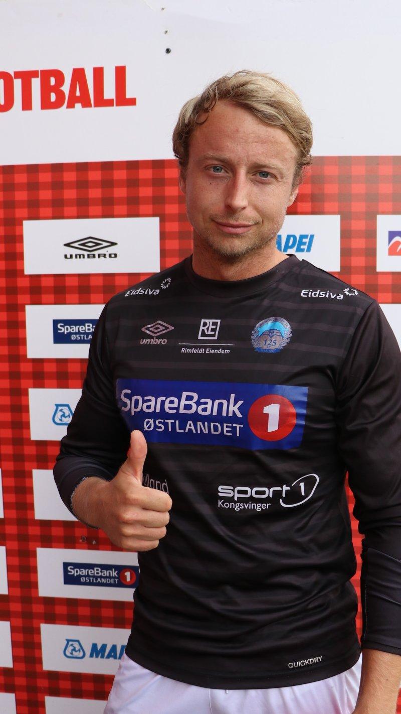 Toppscorer: Didrik Borten fra Borten Eiendom satte inn 18 mål i løpet av turneringen. Det sørget for toppscorer-tittelen.