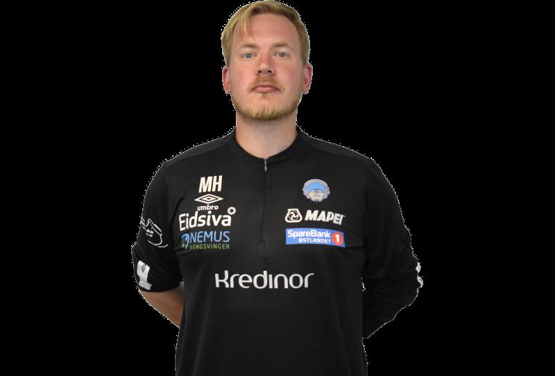 KILs Sports Scientist: Utdannet fysioterapeut og student Martin Skogli Holt er ansvarlig for KILs GPS-data.