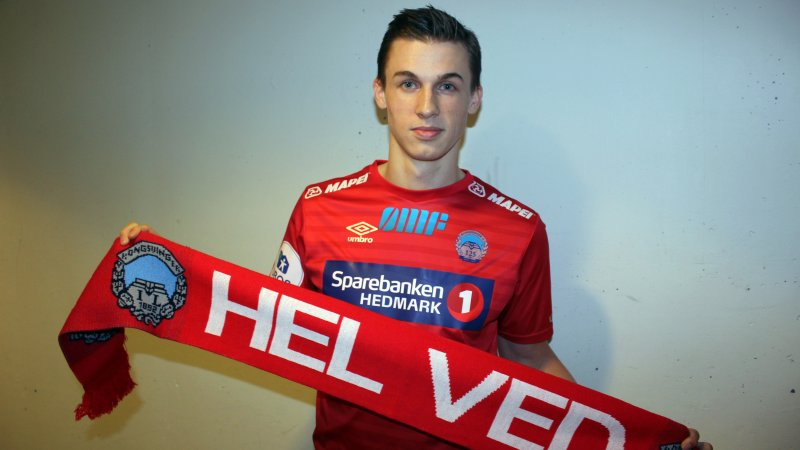Fredrik Sjølstad gleder seg til å komme i gang i KIL-trøya!
