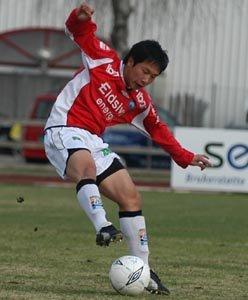 Ji-Ho Cha i aksjon for KIL i 2005.
