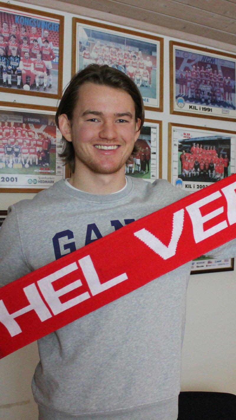 Christian Røer blir KIL-spiller ut 2021.