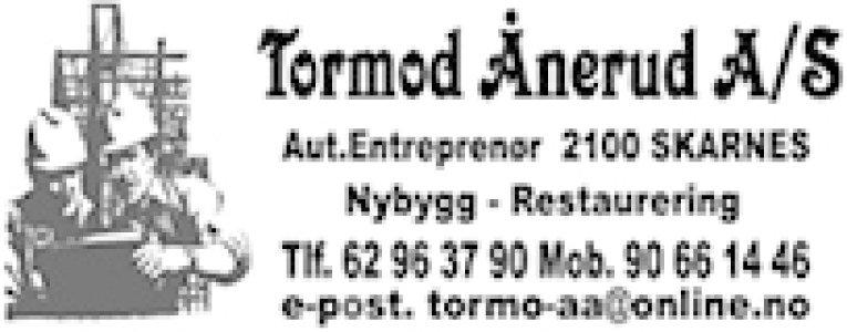 Entreprenør Tormod Ånerud